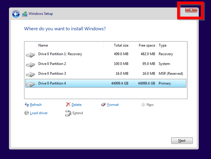 "Steps to Fix ""We Couldn t Format the Selected Partition. [Error: 0x80070057]"""