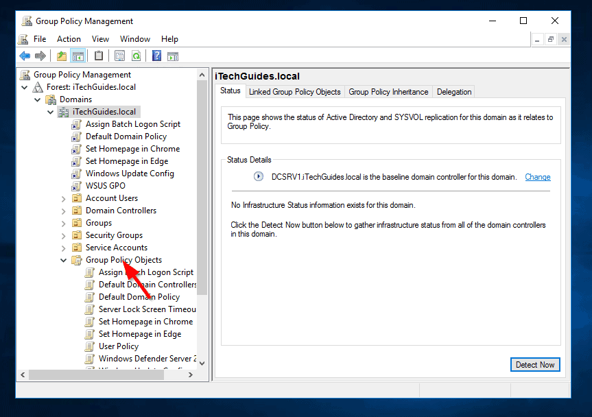 Steps to Map Network Drive with Group Policy