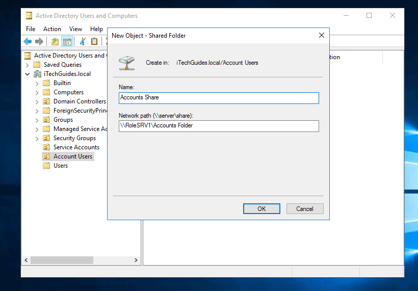 map network drive group policy