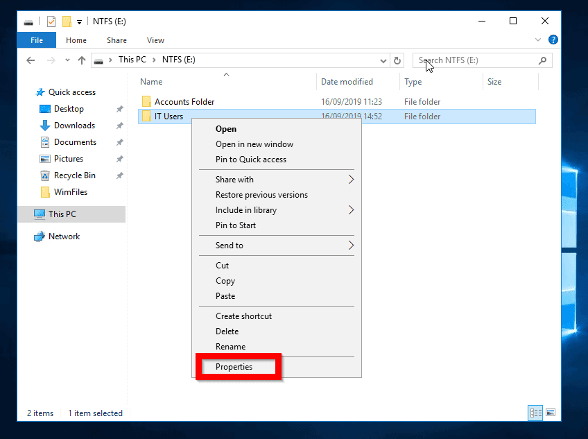How to Share Folder in Windows 10 From Folder Properties