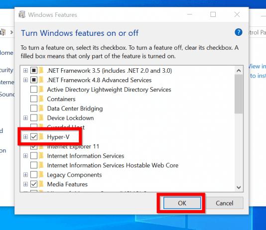 How to Enable Hyper-V in Windows 10 (3 Methods)