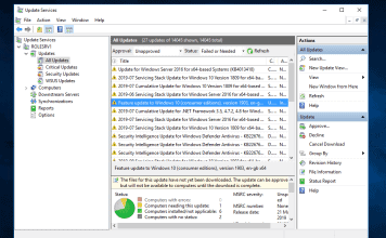 How to Install Windows 10 1903 with WSUS