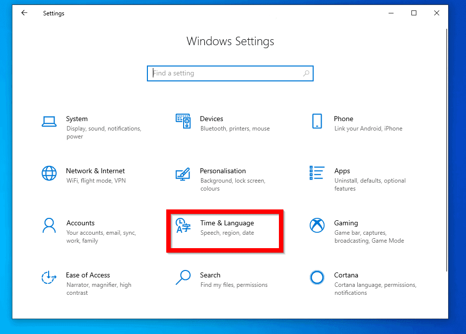 Steps to Fix Cortana Search not Working