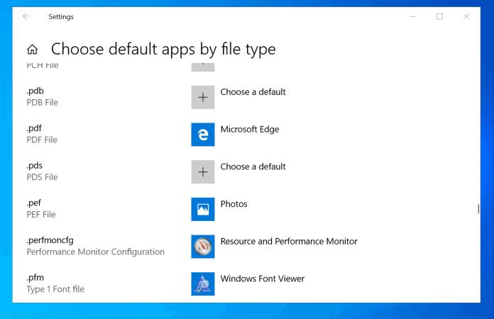 How to Set Default Programs in Windows 10
