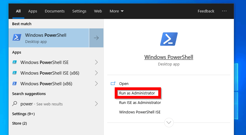 How to Install IIS in Windows 10 with PowerShell