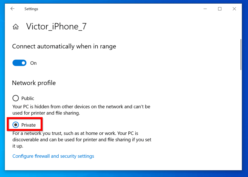 How to Change Network from Public to Private in Windows 10 (Network Settings)