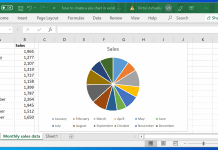 How to Create a Pie Chart in Excel and Google Sheets