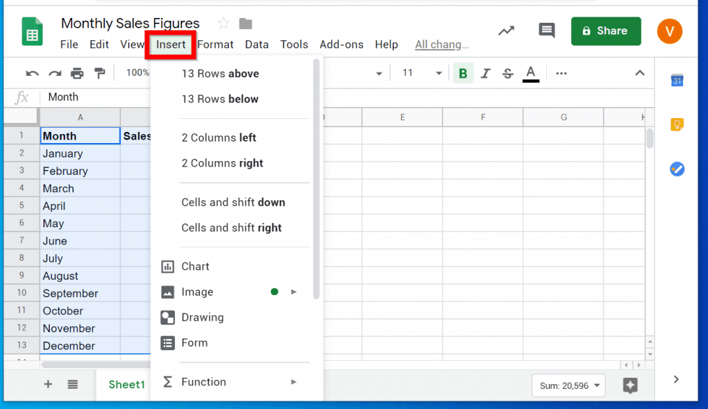 How to Create a Bar Chart in Excel and Google Sheets