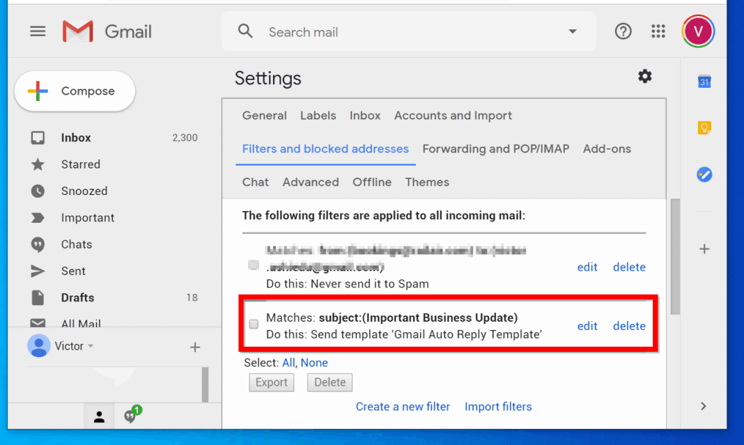 How to Setup Gmail Auto Reply (Not Out of Office Auto Reply)
