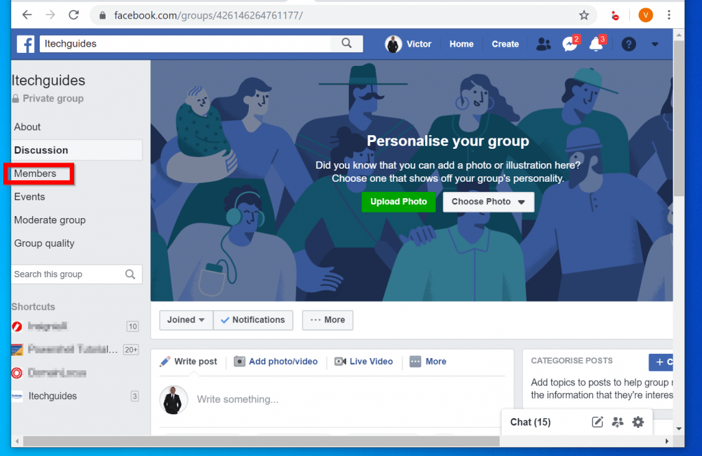 How to Delete a Facebook Group from a PC (Facebook.com)