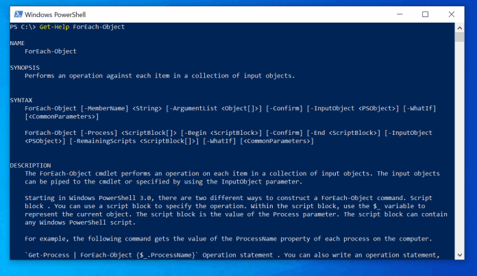 PowerShell Foreach-Object: Syntax, Parameters, Examples