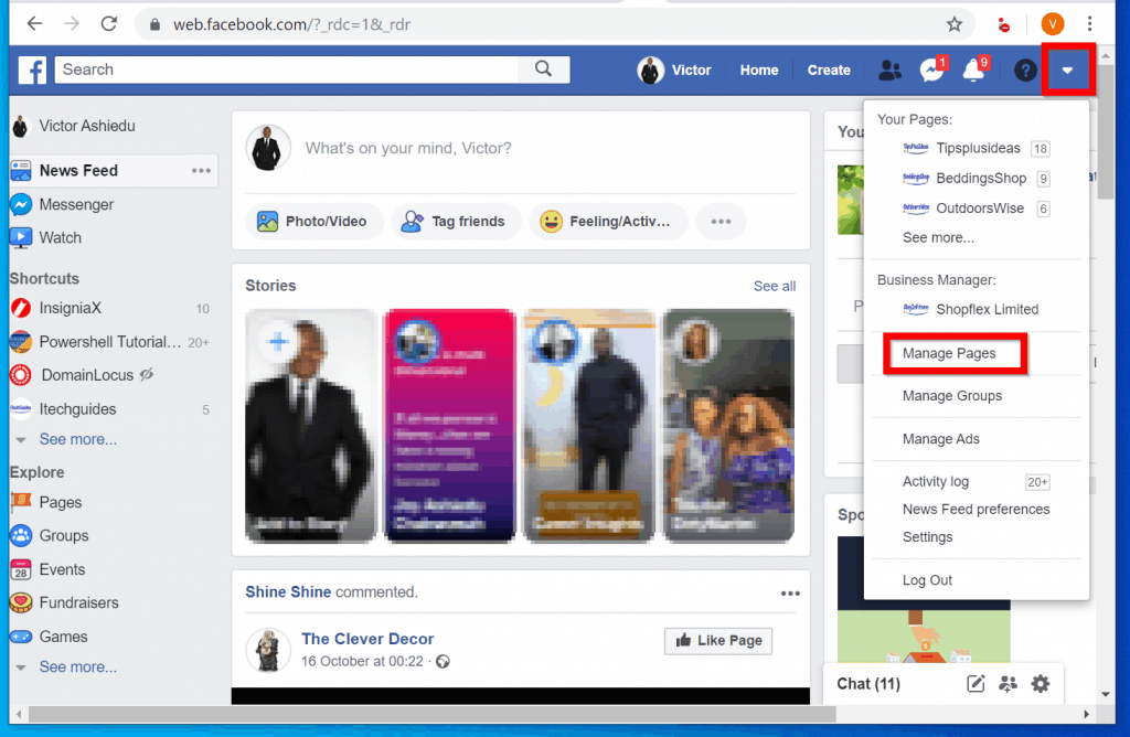 How to Add Administrator to Facebook Page from a PC
