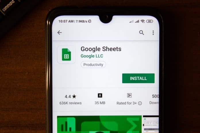 How to Freeze Cells in Google Sheets