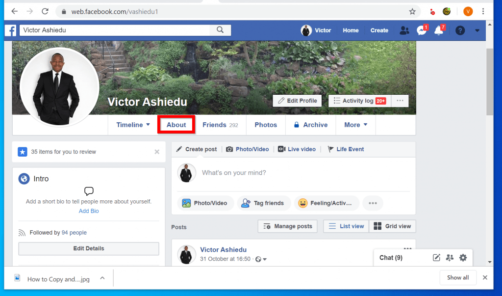 How to Change Birthday on Facebook (from a PC)