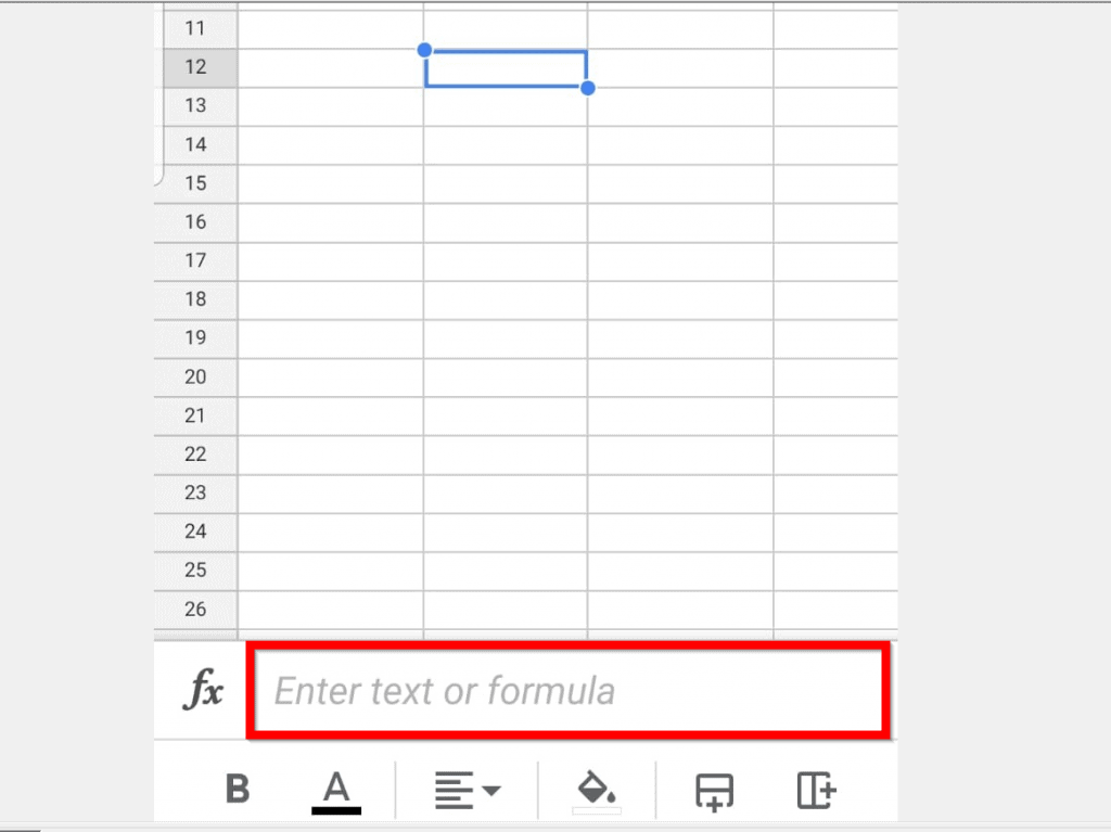How to Multiply in Google Sheets from the App