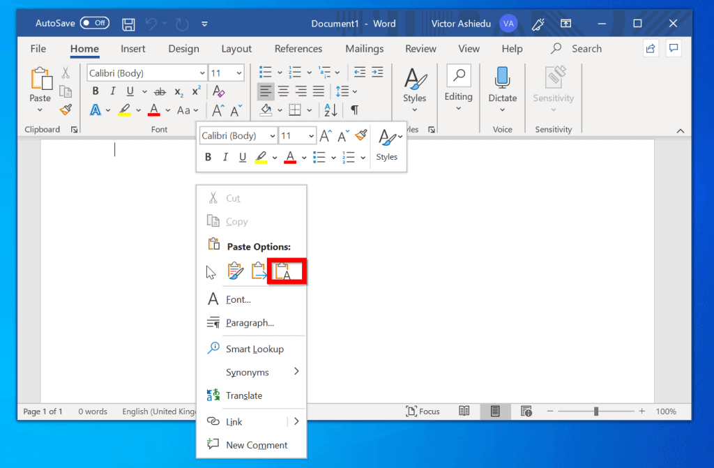 How to Print Facebook Messages from Microsoft Word