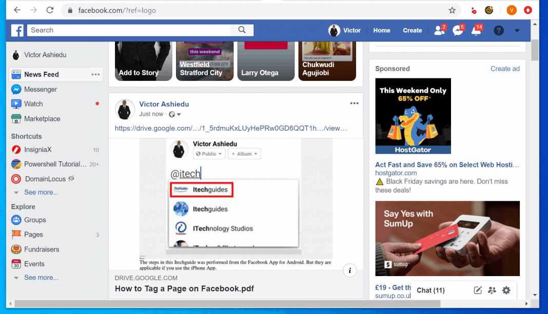 How to Post a PDF on Facebook Page