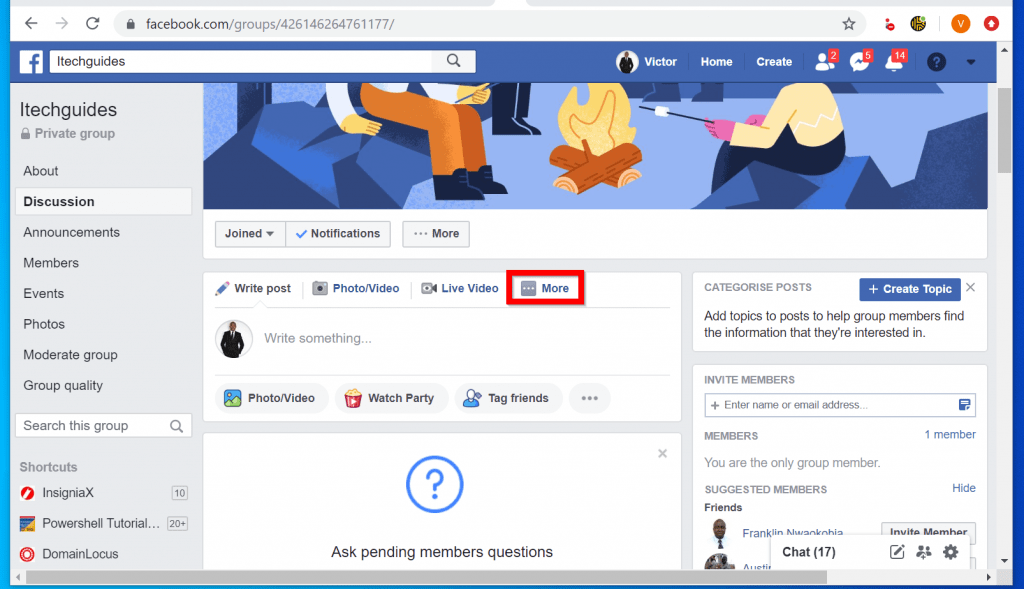How to Post a PDF on Facebook Group