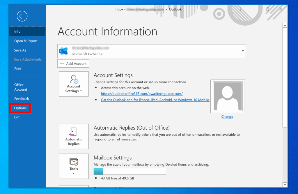 How to Change email Signature in Outlook Client (Windows 10)