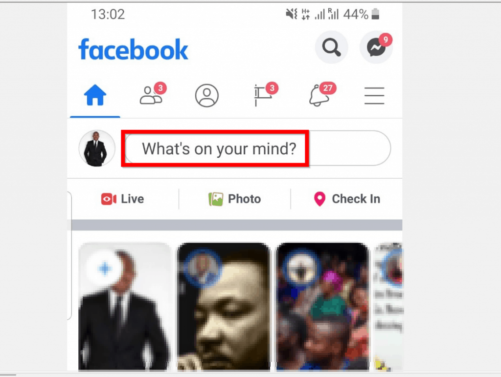 How to Tag Someone in a Facebook Post from the App