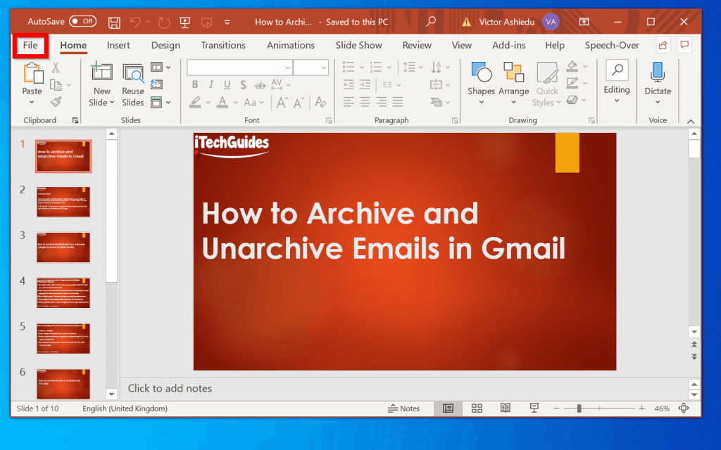 How to Upload a PowerPoint to YouTube - Convert Your PowerPoint to an MP4 Video