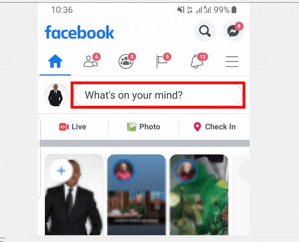 How to Bold Text on Facebook Post from a Mobile Phone