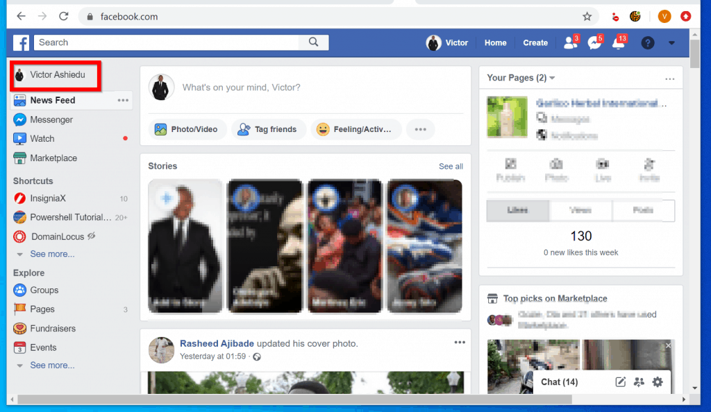 How to see Followers on Facebook from a PC (Facebook.com)