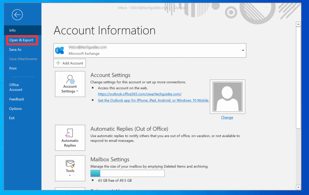 How to Export Contacts from Outlook Client