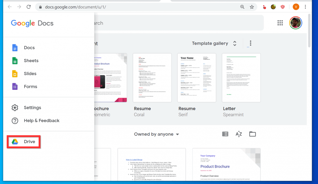 How to Make a Table of Contents in Google Docs from a PC