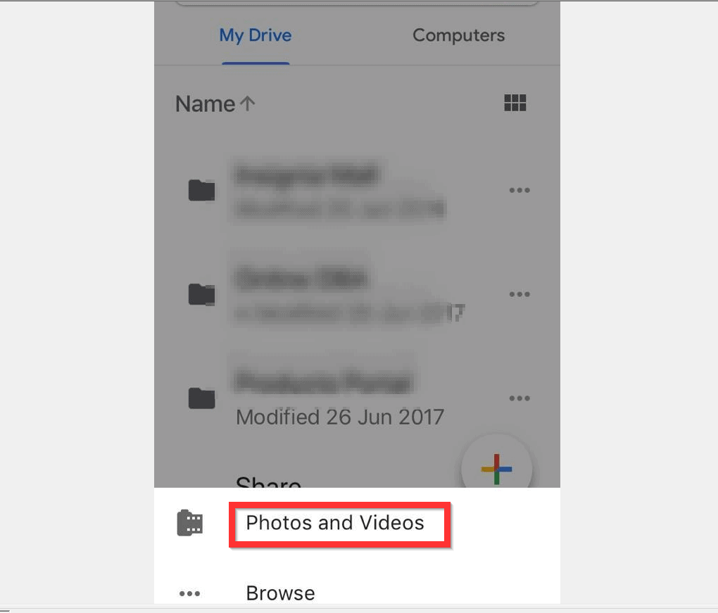 How to Upload Photos to Google Drive from iPhone