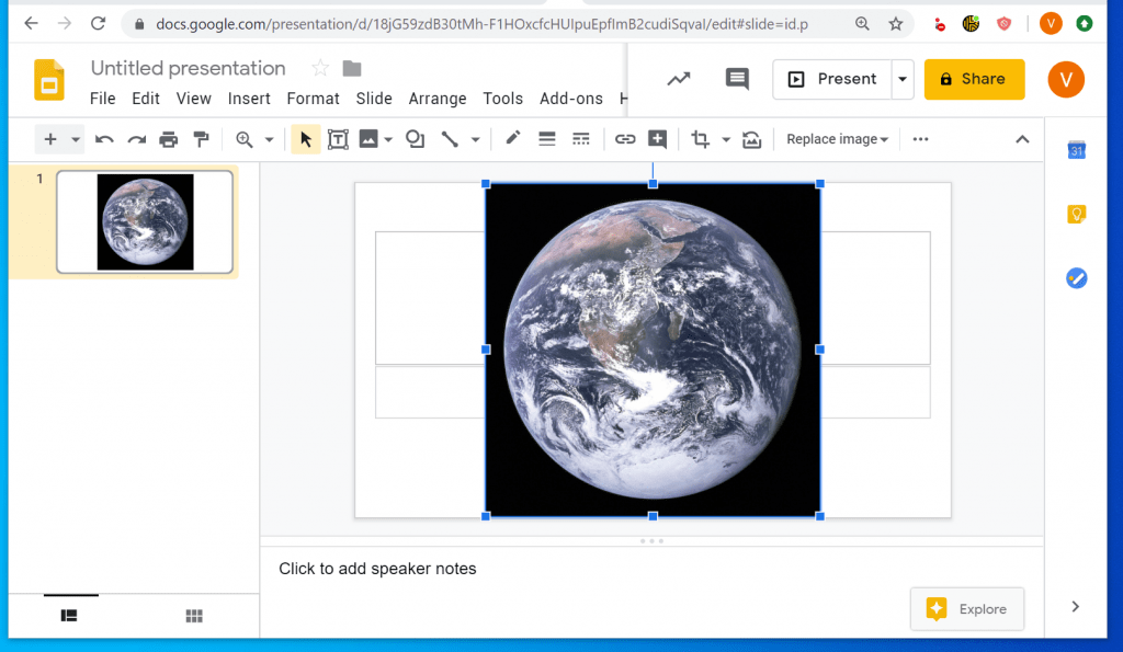 How to Insert GIF Into Google Slides from a PC - Search the Web