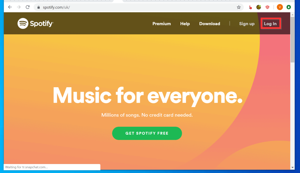 Before You Unlink Spotify from Facebooka, Change Spotify Password
