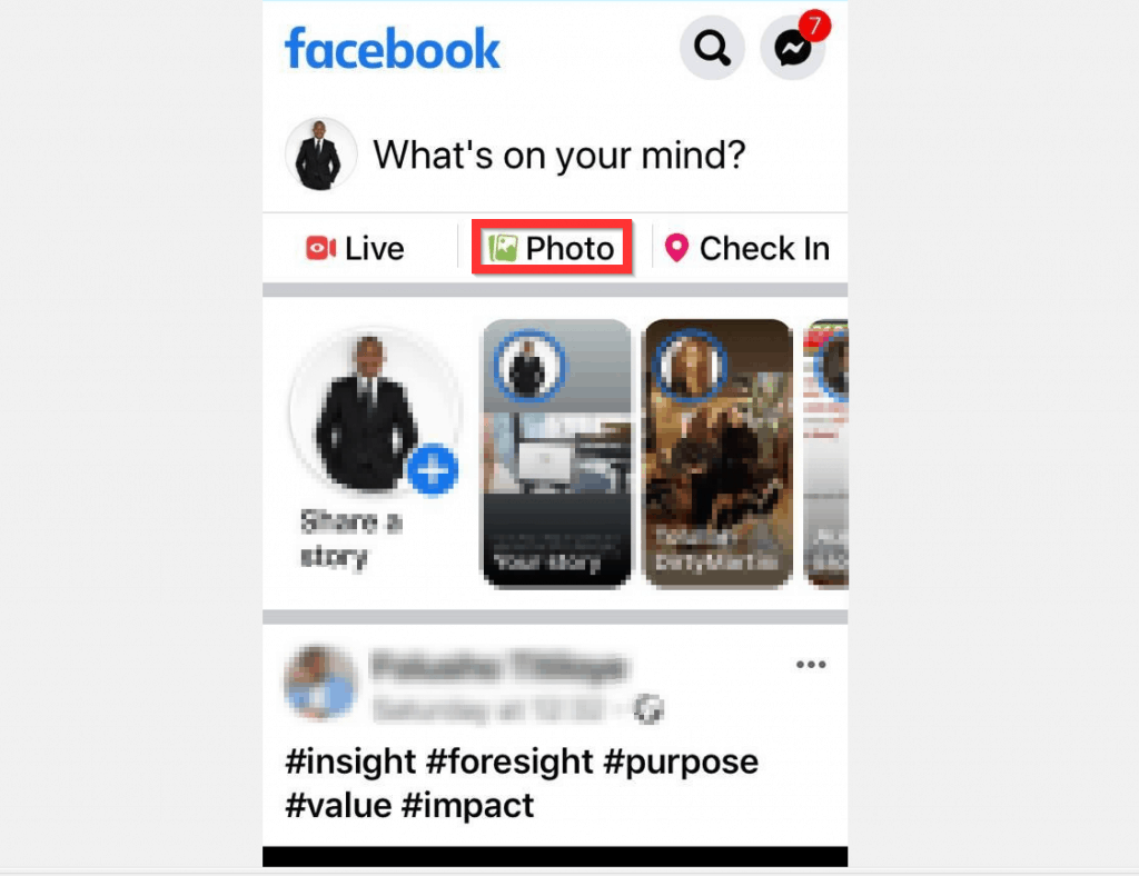 How to Post Pictures on Facebook from iPhone