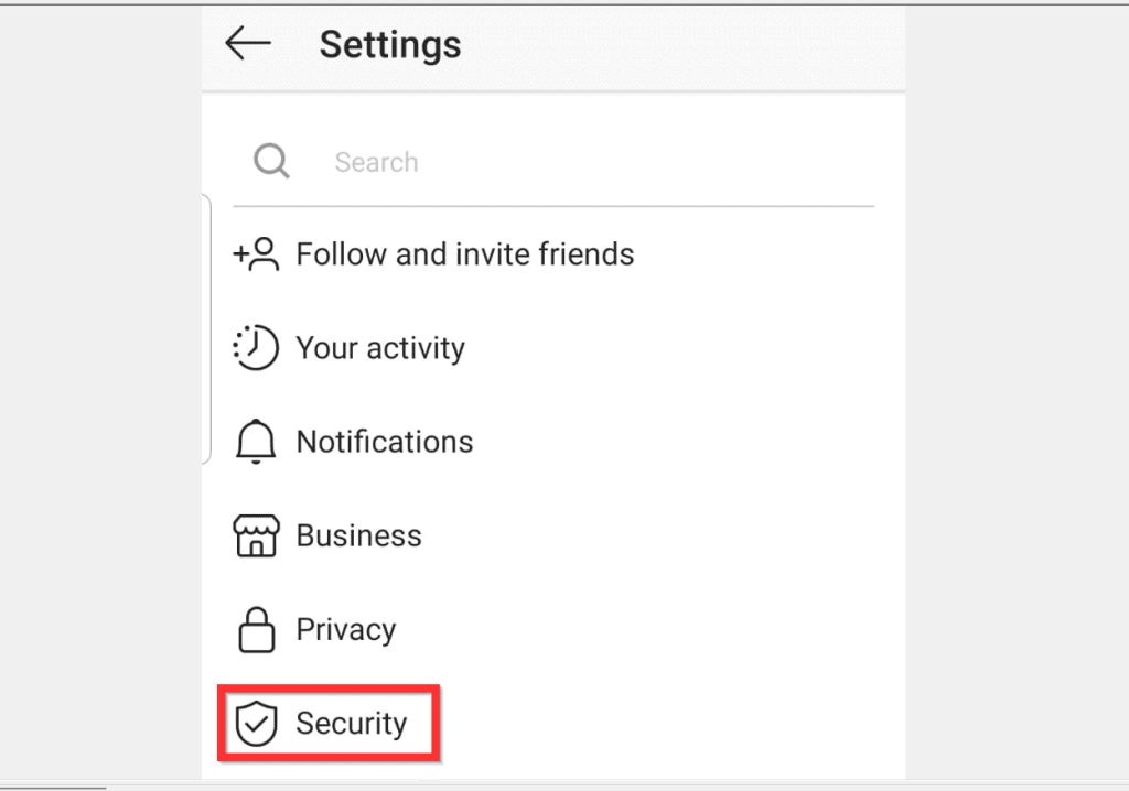 How to Clear Search History on Instagram from Android