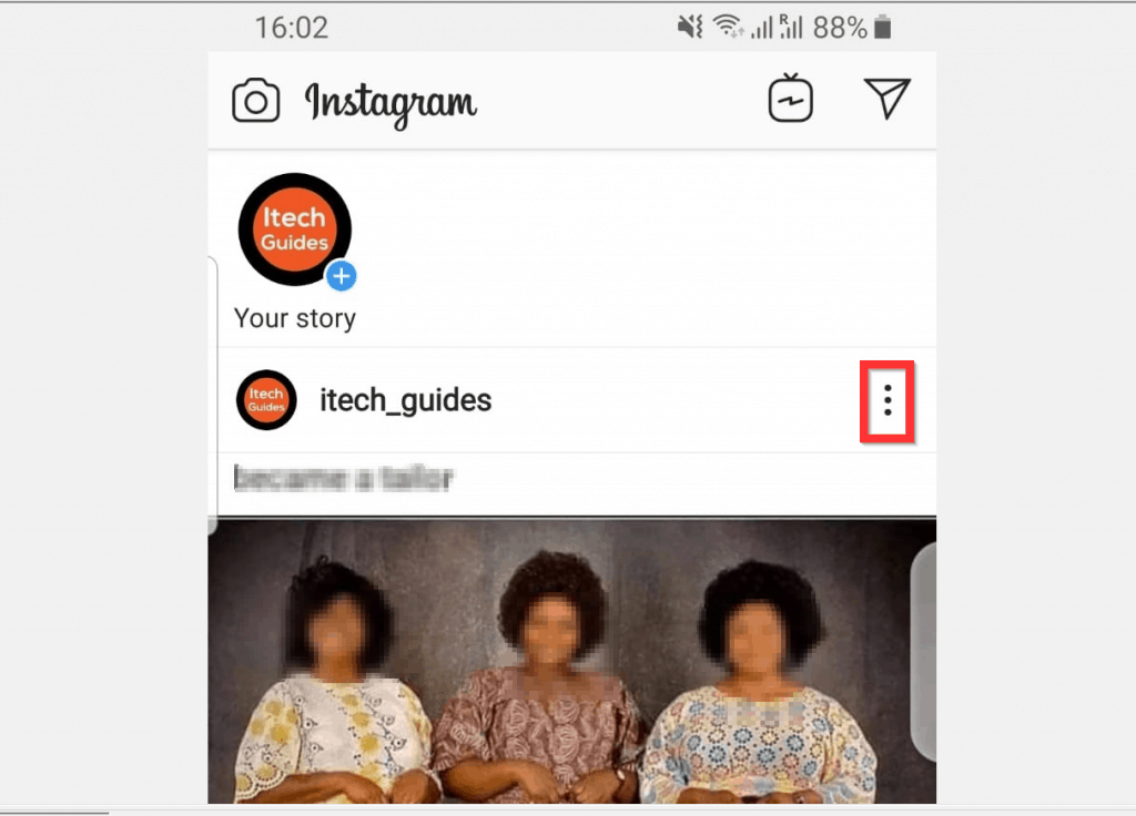 How to Tag Someone on Instagram from Android  - Existing Post