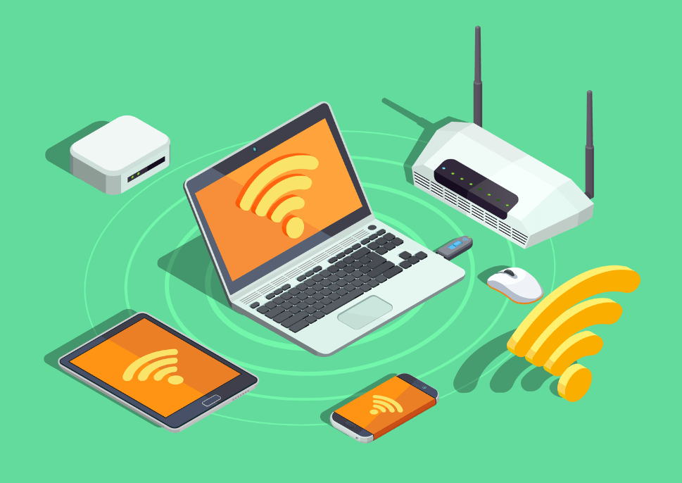what is difference between wifi and internet