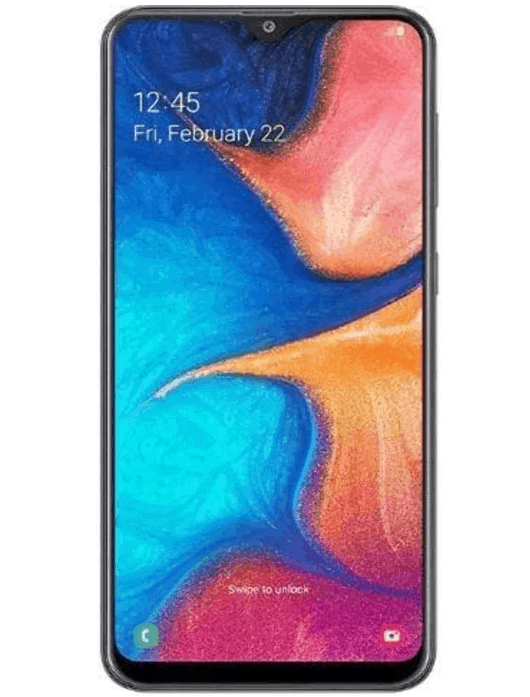 Samsung A20 Display Features Review