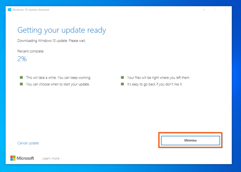 How to Install Windows 10 2009 Update Manually